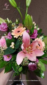 Dieser Traum in Pastell eignet sich für alle, die zarte Farbtöne bevorzugen. Mit seinem romantischen Aussehen eignet er sich sowohl als Geburtstagswunsch, Dankeschön, Liebeserklärung oder einfach so.