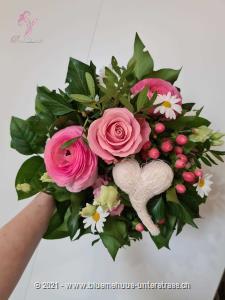 Kleine Geste mit grosser Wirkung! Überraschen Sie jemanden den Sie mögen und Sie werden sehen, wie viel Freude das macht.    Das Bild entspricht der mittleren Preisvariante und die Vase ist nicht inbegriffen. Auf Wunsch finden Sie diese in der Kategorie Vasen.